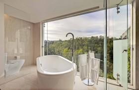 农村别墅装修效果图 卫生间浴缸装修效果图大全