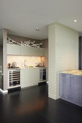 现代风格设计 现代风格厨房隔断装修效果图大全