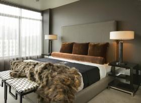 卧室简单背景墙装修效果图大全