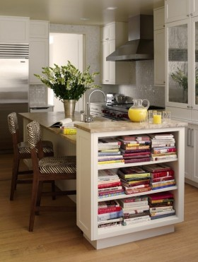 厨房吧台餐边柜装修效果图