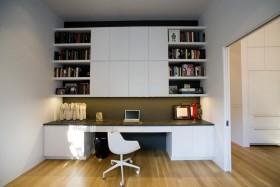 简约书房书柜装修效果图大全