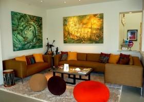 后现代风格小客厅装修效果图