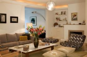 客厅装修效果图 沙发茶几家居装修效果图