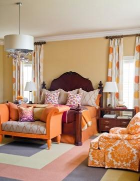后现代风格卧室装修效果图大全