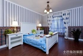 地中海风格温馨舒适儿童房设计