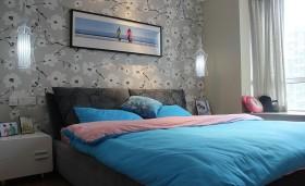 卧室背景墙装修效果图 现代卧室装修