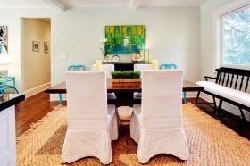 美式风格餐厅装修效果图 最新的美式餐厅装修