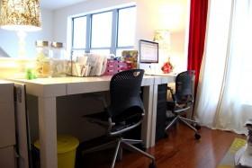 80平米小户型家庭书房装修效果图