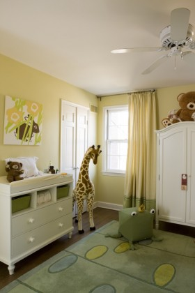 田园风格窗帘装修效果图  儿童房间窗帘装修效果图