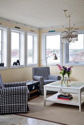 地中海客厅装修风格效果图片