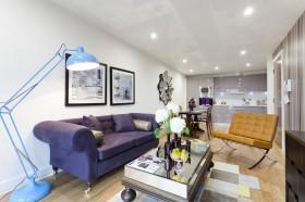 简约风格客厅沙发茶几装修效果图