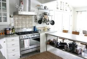 70平米小户型家庭厨房装修效果图 厨房装修效果图