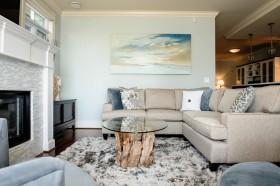 现代风格灰色客厅沙发装修效果图大全
