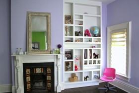 欧式风格客厅柜子效果图