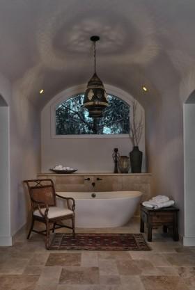 欧式风格卫浴间设计效果图