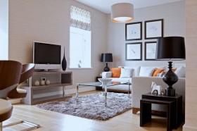 小客厅装修效果图 电视墙的装饰