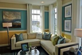 浅色调客厅沙发装修效果图 客厅装修效果图