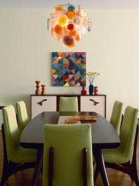 简约家庭餐厅餐桌图片