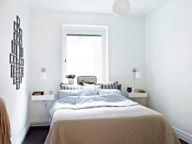 小户型卧室装修效果图 50平米小户型卧室装修