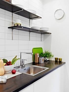 40平小户型家居厨房效果图
