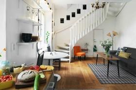 小复式楼梯设计图片