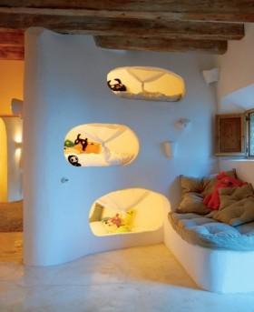 地中海创意儿童房装修效果图 儿童房装修效果图