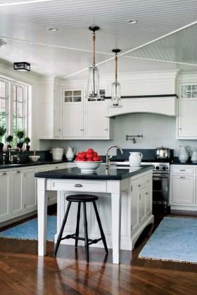 欧式风情厨房天花板吊顶装修效果图