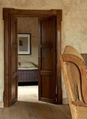 实木卧室房门图片