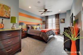2012女生卧室装修效果图 别墅卧室装修效果图