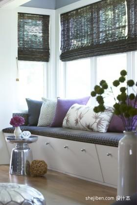 阳台改造卧室飘窗装修效果图