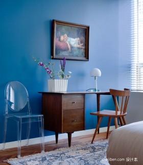 90平米房屋卧室书柜装修效果图