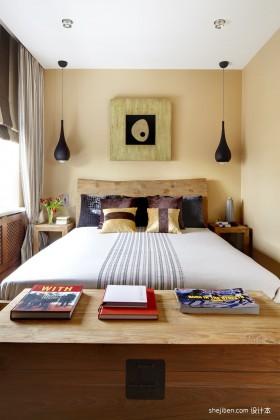 小户型单身公寓素雅气息的卧室装修效果图