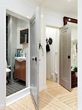 卫生间门装修效果图片