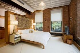 卧室装修效果图 东南亚风格卧室装修效果图