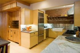 厨房家庭橱柜装修效果图