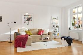 60平米小户型装修效果图 小客厅效果图