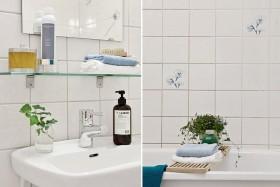 卫生间瓷砖效果图 小卫生间装修