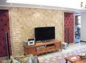 最新电视柜背景墙装修效果图