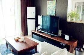 实木电视柜背景墙装修效果图大全