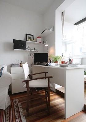 小书房书桌装修效果图