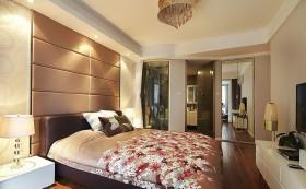 简欧卧室背景墙装修效果图 主卧室装修效果图