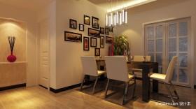 2013餐厅装修效果图 餐厅照片墙装修效果图