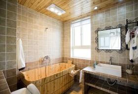 小卫生间装修效果图 卫生间瓷砖效果图