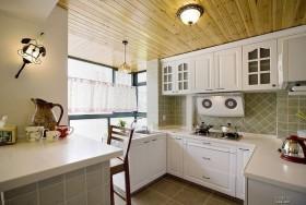 小厨房装修效果图 地中海厨房装修效果图
