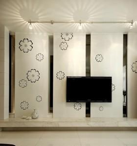 现代简约电视背景墙墙纸图片