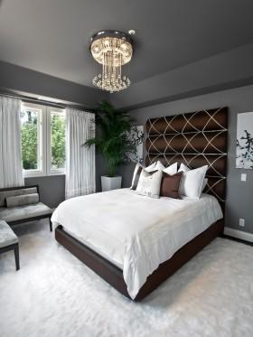 卧室空间装修效果图 卧室玄关吊顶装修效果图