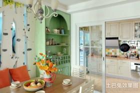 厨房与餐厅隔断图片