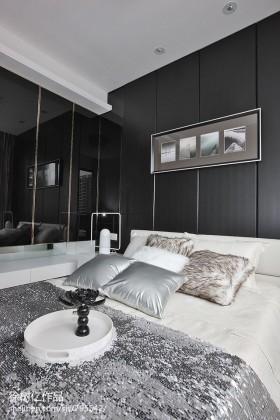 现代简约风格卧室设计效果图