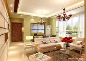 70平米小户型客厅装修效果图 现代客厅装修效果图