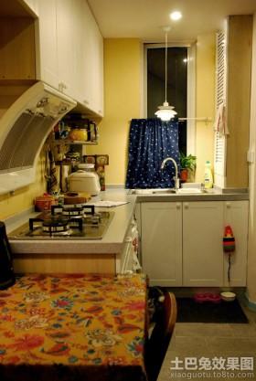 小平米厨房装修效果图片欣赏
